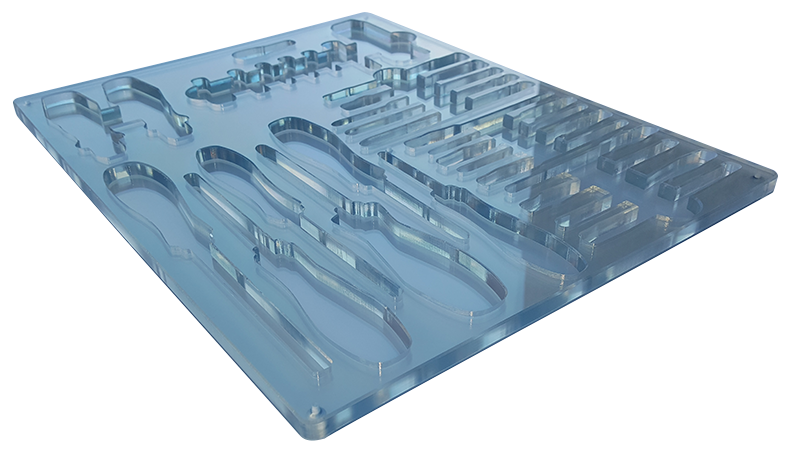 Transparent Tool Tray
