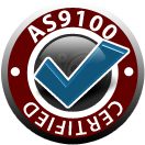 Certified AS9100 - CNC machining services