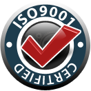Certified ISO9001 - CNC machining